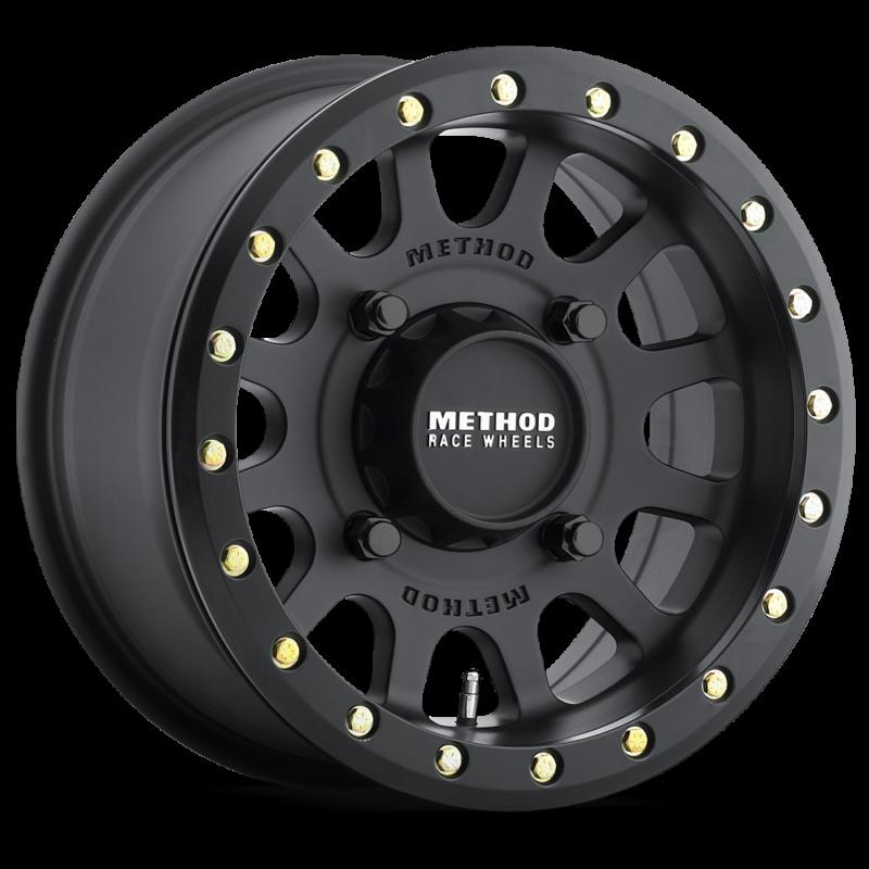 Method Race Wheels 401 UTV Beadlock Matte Black